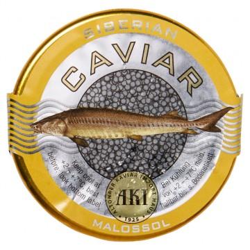 Siberian caviar acipenser...